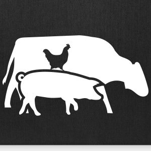 Cow, pig and cock Bags & backpacks - Tote Bag