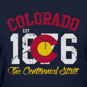 Colorado The Centennial State Women's T-Shirts - Women's T-Shirt