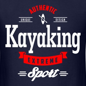 Kayaking Extreme Sport W&R Art - Men's T-Shirt