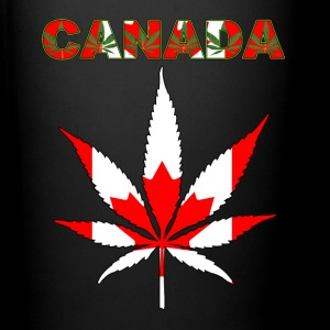 CANADA HEMP LEAF FLAG - Full Color Mug