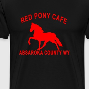 red_pony_cafe - Men's Premium T-Shirt