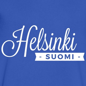 Helsinki T-Shirts - Men's V-Neck T-Shirt by Canvas