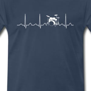 DRUMS HEARTBEAT - Men's Premium T-Shirt