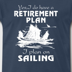 SAILING PLAN - Men's Premium T-Shirt
