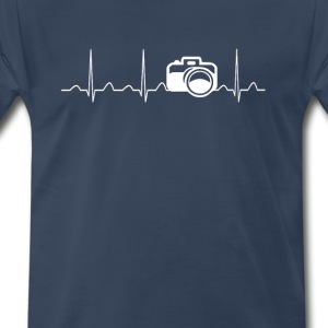 CAMERA HEARTBEAT - Men's Premium T-Shirt
