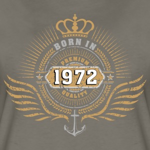 born_in_197201 Women's T-Shirts - Women's Premium T-Shirt