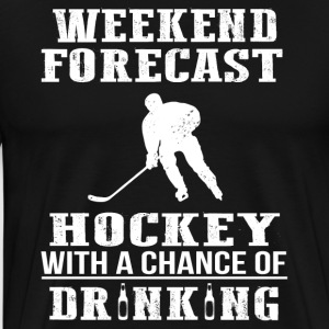 Hockey Fan Funny T-Shirt - Men's Premium T-Shirt