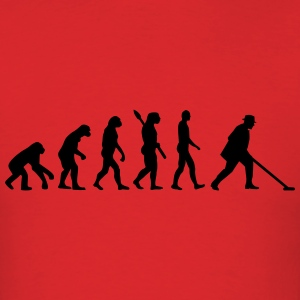 Evolution Shuffleboard T-Shirts - Men's T-Shirt