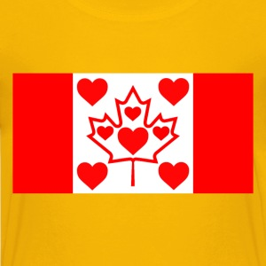I LOVE CANADA - Kids' Premium T-Shirt