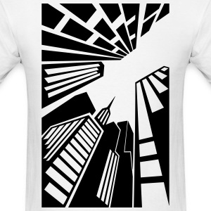 New York from below T-Shirts - Men's T-Shirt