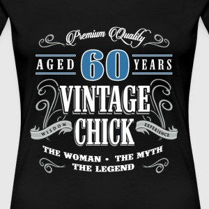Birthday Gift 60 years old birthday vintage - Women's Premium T-Shirt