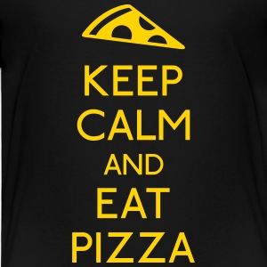 Keep Calm Pizza Baby & Toddler Shirts - Toddler Premium T-Shirt