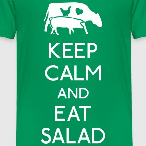Keep Calm eat salad Baby & Toddler Shirts - Toddler Premium T-Shirt