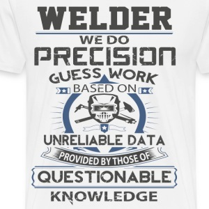 Welder T-shirt - I might be a welding Metal - Men's Premium T-Shirt