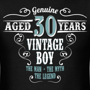 Vintage Boy Aged 30 Years.... T-Shirts - Men's T-Shirt