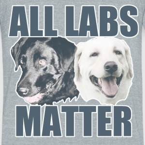 All Labs Matter  - Unisex Tri-Blend T-Shirt by American Apparel