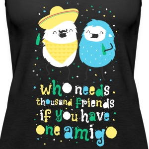 Amigos - best friends Tanks - Women's Premium Tank Top