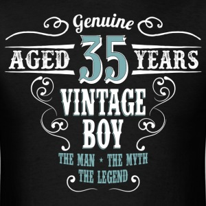 Vintage Boy Aged 35 Years.... T-Shirts - Men's T-Shirt