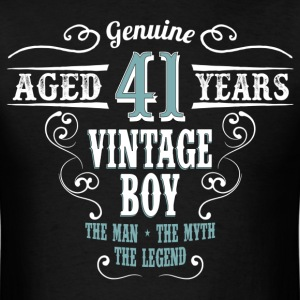 Vintage Boy Aged 41 Years... T-Shirts - Men's T-Shirt