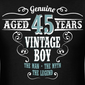 Vintage Boy Aged 45 Years... T-Shirts - Men's T-Shirt