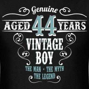 Vintage Boy Aged 44 Years... T-Shirts - Men's T-Shirt
