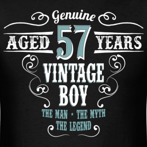 Vintage Boy Aged 57 Years... T-Shirts - Men's T-Shirt