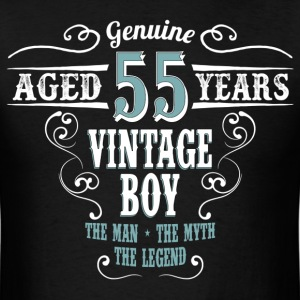 Vintage Boy Aged 55 Years.... T-Shirts - Men's T-Shirt