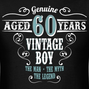 Vintage Boy Aged 60 Years... T-Shirts - Men's T-Shirt