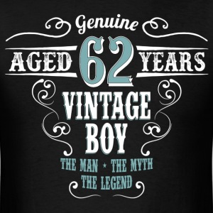 Vintage Boy Aged 62 Years... T-Shirts - Men's T-Shirt