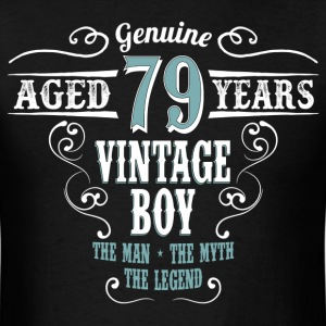 Vintage Boy Aged 79 Years... T-Shirts - Men's T-Shirt