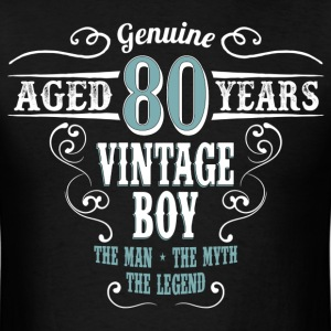 Vintage Boy Aged 80 Years... T-Shirts - Men's T-Shirt