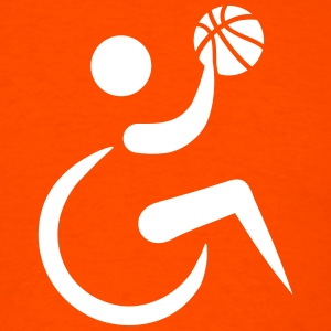 Wheelchair basketball T-Shirts - Men's T-Shirt