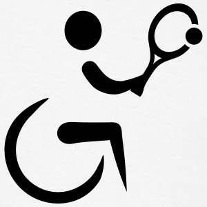 Wheelchair tennis T-Shirts - Men's T-Shirt