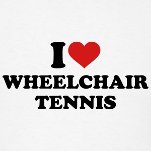 I love wheelchair tennis T-Shirts - Men's T-Shirt