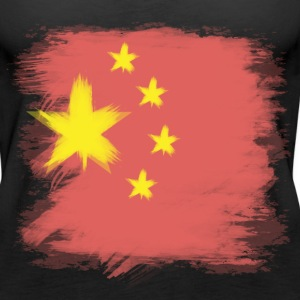 China Flag Chinese Tanks - Women's Premium Tank Top