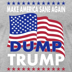 Dump Trump 2016 T-Shirts - Men's T-Shirt by American Apparel