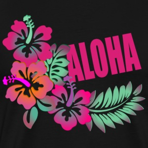 ALOHA FLOWER T-Shirts - Men's Premium T-Shirt