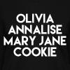 TV Heroines - Women's V-Neck T-Shirt