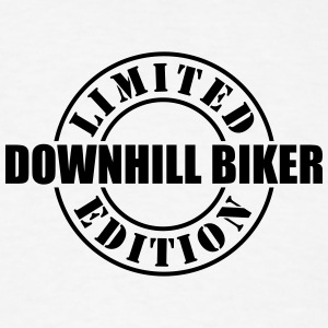 limited edition downhill biker t-shirt - Men's T-Shirt