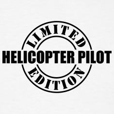 limited edition helicopter pilot t-shirt
