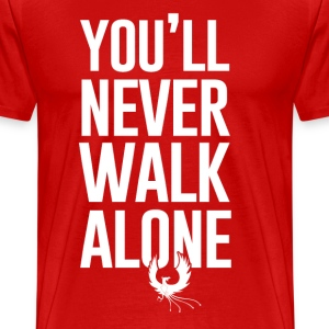 Never Walk Alone - Men's Premium T-Shirt