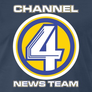Channel 4 News Team (ANCHORMAN) - Men's Premium T-Shirt