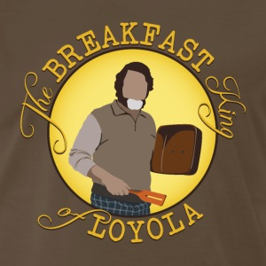 The Breakfast King of Loyola (FARGO) - Men's Premium T-Shirt
