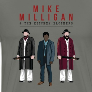 Mike Milligan & The Kitchen Brothers (FARGO) - Men's Premium T-Shirt