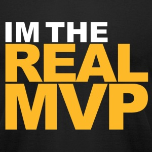 I'm The Real MVP - Black - Men's T-Shirt by American Apparel