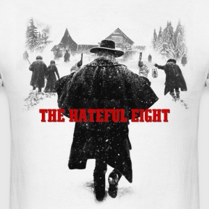 the hateful eight serigraphy | tarantino movie T-Shirts - Men's T-Shirt