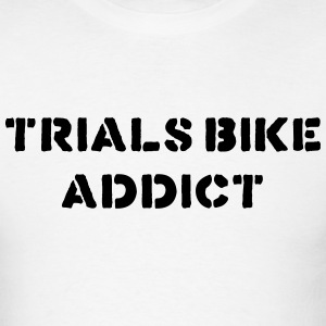trials bike addict t-shirt - Men's T-Shirt