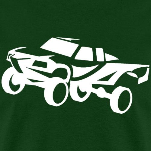 truck desert race white