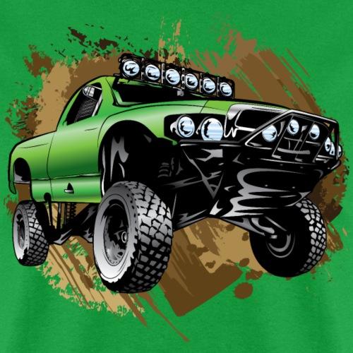 Mudding Green Race Truck