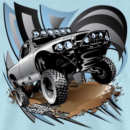 Trophy Race Truck Grey